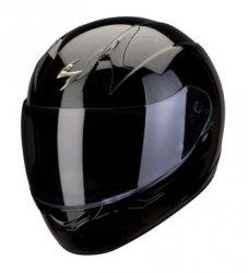 SCORPION KASK MOTOCYKLOWY EXO-390 SOLID BLACK