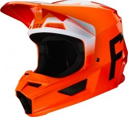 FOX V-1 KASK WERD FLO ORANGE