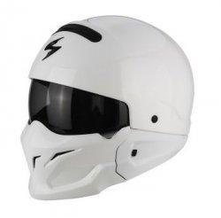 SCORPION KASK MOTOCYKLOWY EXO-COMBAT SOLID WHITE