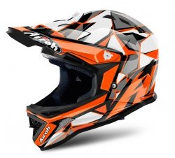 KASK DZIECIĘCY AIROH JUNIOR ARCHER CHIEF ORANGE r. S