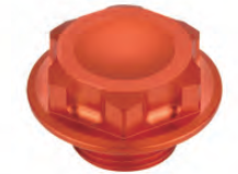 Accel nakrętka + śruba górnej półki - KTM EXC/F/R125/530