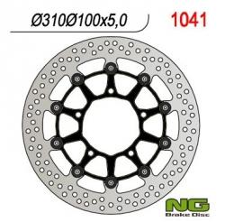 NG Tarcza hamulcowa przednia SUZUKI GSX-F 750 (07) 310x100x5,0