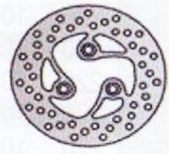 Tarcza hamulcowa przednia MBK Fizz 50 (94-95)