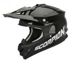 Scorpion VX-15 Evo Air kask motocyklowy czarny połysk