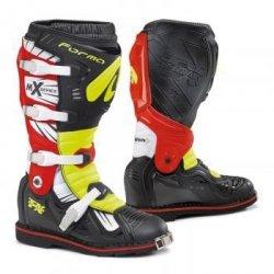 Forma Terrain TX buty motocross (zawias) czarno-czerwone-fluo