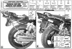 KAPPA K3550 stelaż kufra centralnego Yamaha XJR 1300 (04-06)