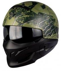 Scorpion Exo-Combat Ratnik kask motocyklowy otwarty Custom Retro Streetfighter Style