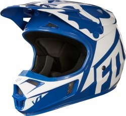 FOX KASK V1 RACE BLUE