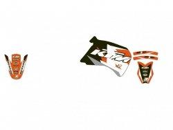 Blackbird Dream 3 KTM 2T 125 GS (93-97) Okleina naklejki komplet naklejek