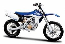 Model motocykla Yamaha YZF 450 Skala 1:12