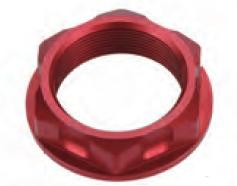 Accel nakrętka górnej półki - Honda CR 125R/250R (01-07) - czerwony