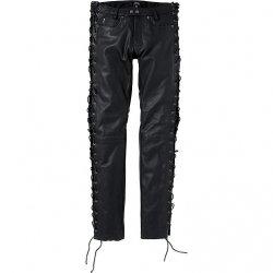 POLO Spirit Motors Dallas spodnie motocyklowe skórzane jeansy klasyczne