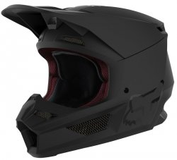 FOX  KASK V-1 MATTE BLACK