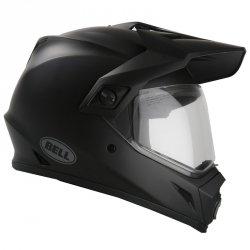 Bell MX9 ADVENTURE kask motocyklowy z daszkiem Dual Touring (Czarny mat)
