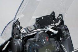 WZMOCNIENIE SZYBY BMW R1200 GS LC / ADVENTURE (13-) BLACK SW-MOTECH