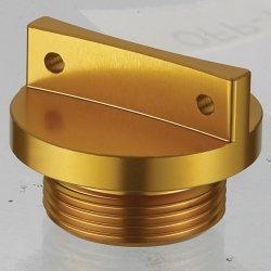 Accel korek wlewu oleju do Kawasaki KXF250/450 (04-18) - złoty (GWINT M18X1,5)