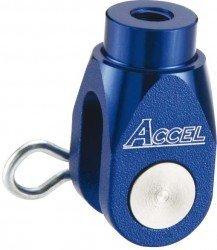 Accel końcówka ośki pompy hamulcowej tył - Suzuki RMZ 250 (07-10) - niebieski