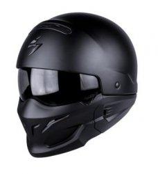 SCORPION KASK MOTOCYKLOWY EXO-COMBAT MATT BLACK