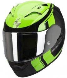 Scorpion Exo-1200 AIR STREAM TOUR kask motocyklowy czarny-zielony fluo