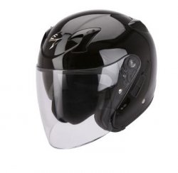 Scorpion kask motocyklowy EXO-220 SOLID BLACK