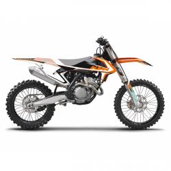 Blackbird Dream 4 KTM EXC (17-19) Okleina naklejki komplet