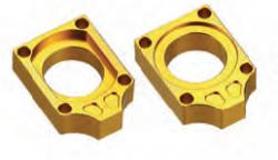 Accel napinacz tylnej ośki - Kawasaki KX/KXF (04-12) - złoty