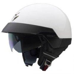 Scorpion EXO-100 kask motocyklowy biały połysk