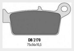 Delta Braking HONDA 600 XR R (93-00) klocki hamulcowe tył