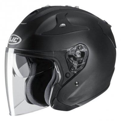 KASK HJC FG-JET RUBBERTONE BLACK  XL