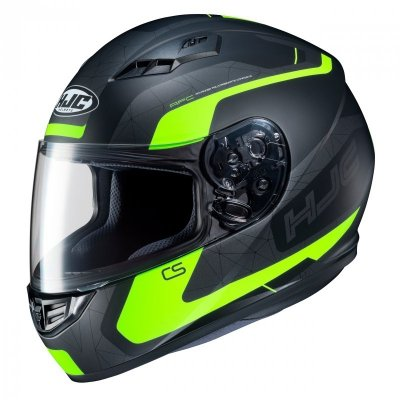 KASK HJC CS-15 DOSTA BLACK/FLO YELLOW S