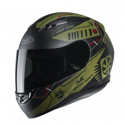 KASK HJC CS-15 TAREX GREEN M