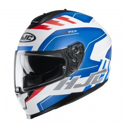 KASK HJC C70 KORO WHITE/BLUE/RED S