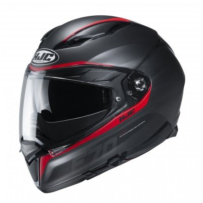 KASK HJC F70 FERON BLACK/RED XL