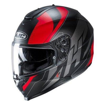 HJC C70 Kask Motocyklowy BOLTAS BLACK/RED