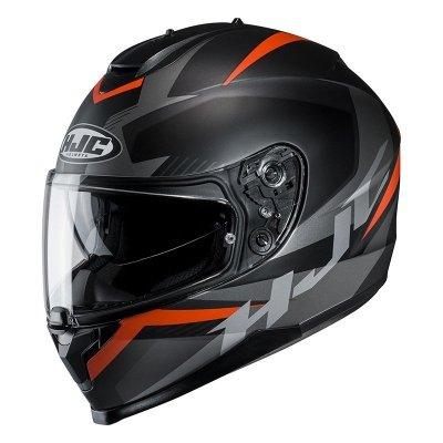 HJC C70 KASK MOTOCYKLOWY TROKY BLACK/ORANGE