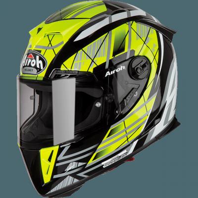 AIROH GP500 KASK MOTOCYKLOWY INTEGRALNY DRIFT YELLOW GLOSS