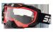 Gogle Shiro MX-902 gogle motocyklowe enduro czerwone