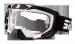 Gogle Shiro MX-902 gogle motocyklowe enduro biało-czarne