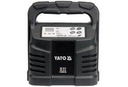 YATO PROSTOWNIK ELEKTRONICZNY 12V 12A  6-200Ah MOKRY  /8302