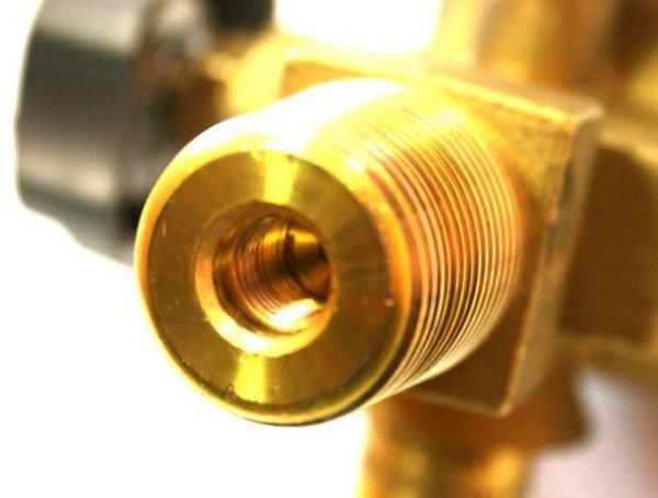 Zawór Argon 25E (duży czop) W21.8 230 bar ze zintegrowanym reduktorem PERGOLA najwyższa jakość
