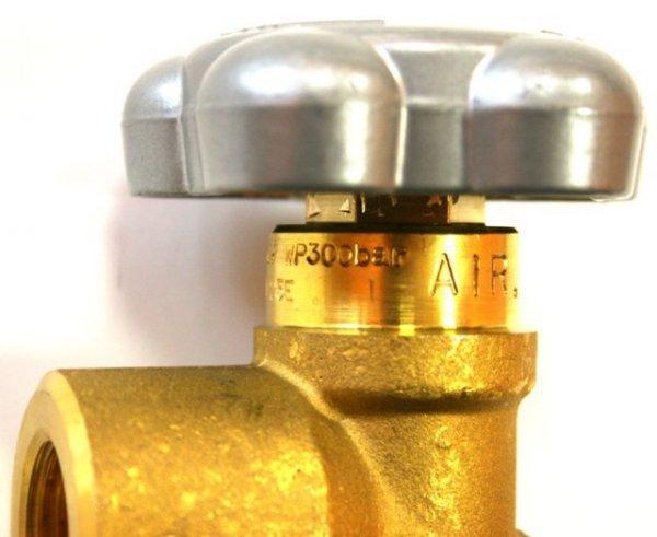 Zawór Powietrze AIR 25E (duży czop), G5/8 300 bar PERGOLA najwyższa jakość