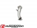 Downpipe kit katalizator przelotowy RAGAZZON EVO LINE sportowy wydech