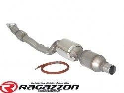 Elastyczna rura kolektora wydechu + katalizator metaliczny RAGAZZON EVO LINE sportowy wydech
