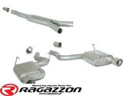 CATBACK tłumik środkowy przelotowy Y pipe i końcowy RAGAZZON EVO LINE sportowy wydech