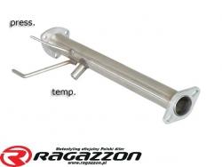 Filtr DPF cząstek stałych przelotowy RAGAZZON EVO LINE sportowy wydech