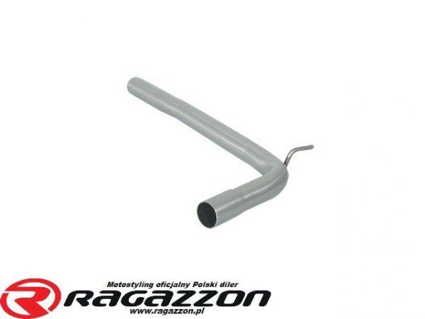 Tłumik środkowy przelotowy RAGAZZON EVO ONE LINE sportowy wydech
