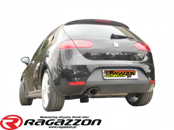 Tłumik końcowy RAGAZZON Seat Leon II 1P 2.0TFSI CUPRA CUPRA-R FR sportowy wydech