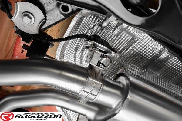 CATBACK tłumik środkowy i końcowy z zaworem RAGAZZON EVO LINE sportowy wydech