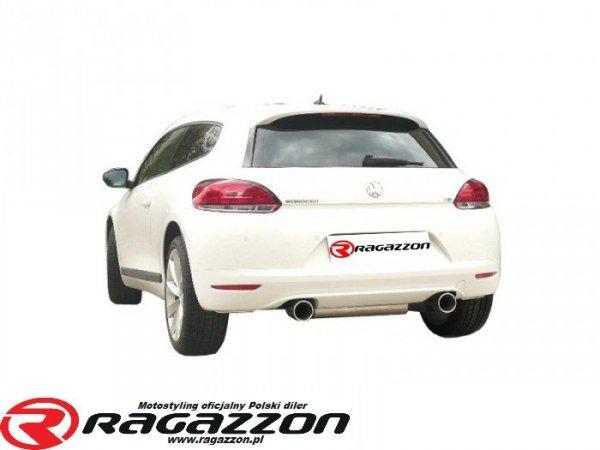 Tłumik końcowy podwójny RAGAZZON Volkswagen Golf VI Scirocco 1.4TSI sportowy wydech