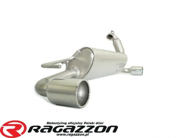 Tłumik końcowy podwójny RAGAZZON Smart Forfour 0.9 sportowy wydech